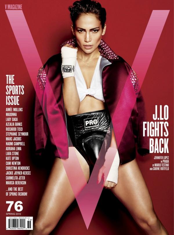 Jennifer Lopez для V Magazine