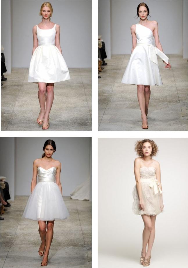 свадебные платья короткий перед длинный шлейф