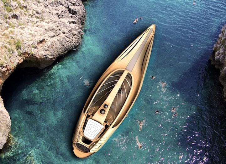 Яхта Cronos