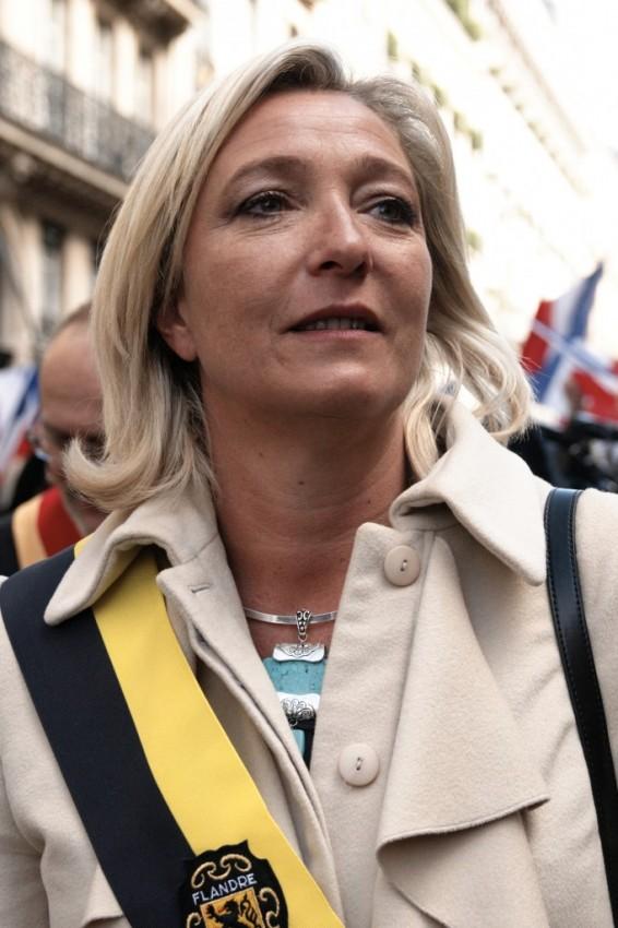 Марин Ле Пен лидер Национального фронта