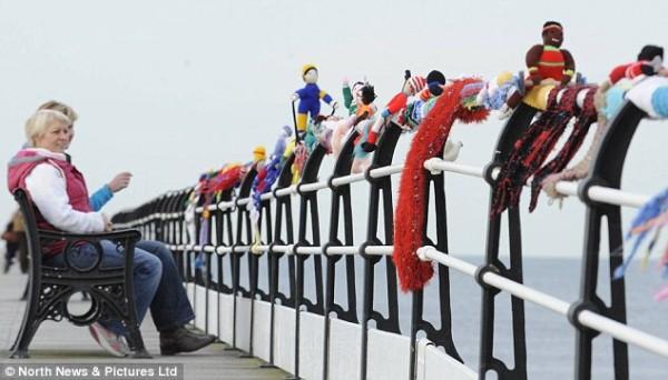 Олимпийский шарф в Северном Йоркшире