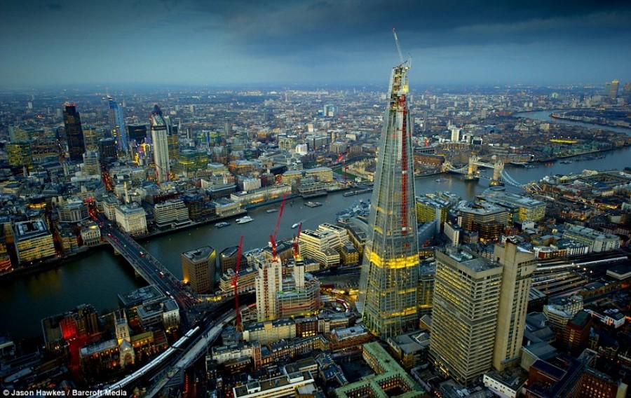 Самое высокое здание Европы находится в Лондоне