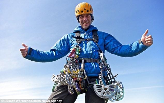 Счастливый альпинист Дэйв МакЛеод