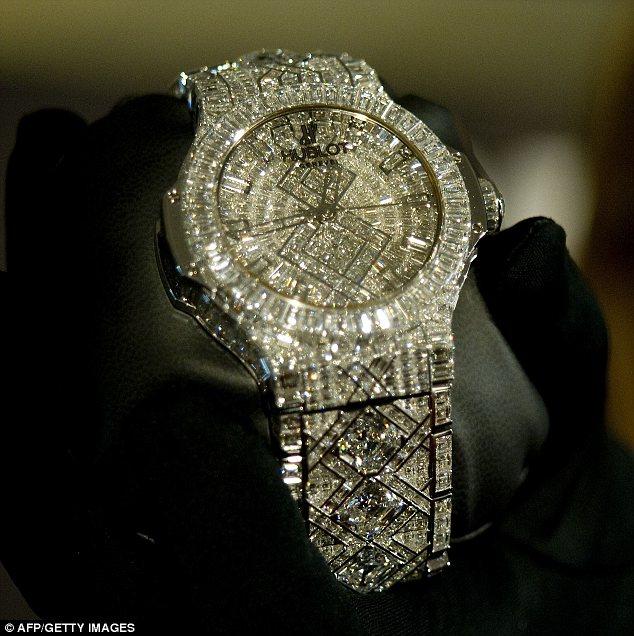 Швейцарские часы от Hublot за 5 млн долларов