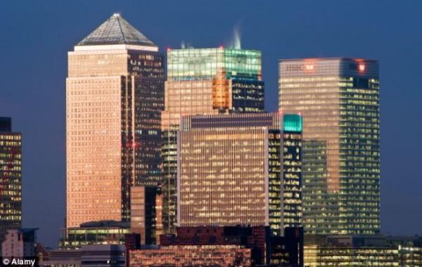 Катар владеет участками финансового района Canary Wharf