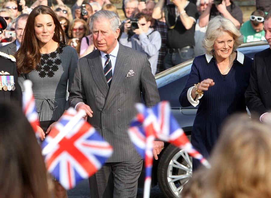 Королевские особы с визитом в Художественную Галерею