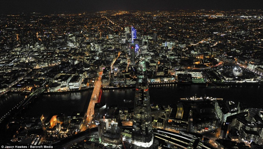 Ночные огни олимпийской столицы 2012