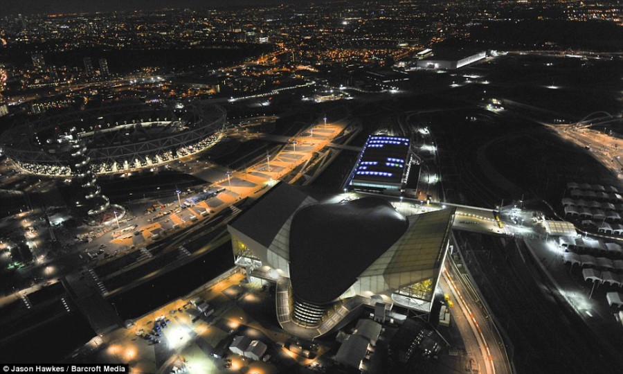 Центр водных видов спорта для Олимпиады 2012