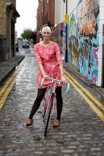 Велосипед должен комбинировать с одеждой