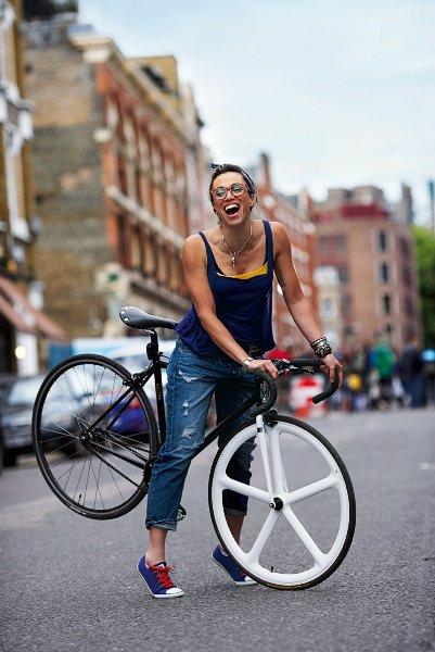 Необычайно комбинированный велосипед
