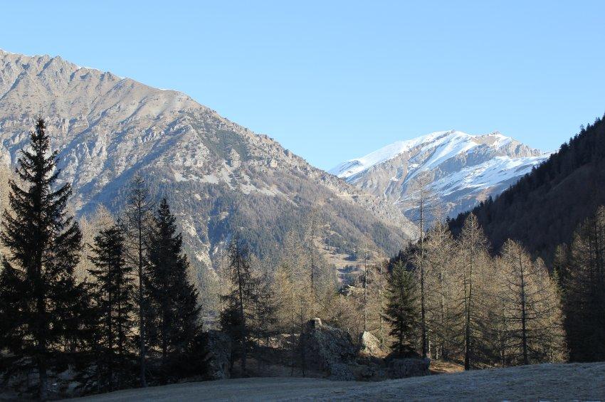 Альпы в Италии, где расположен парк
