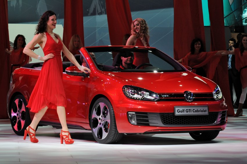 VW Golf GTI Кабриолет
