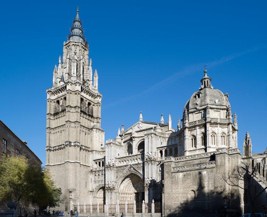Кафедральный собор в Толедо, строился 300 лет, считается одной из самых больших церквей в мире