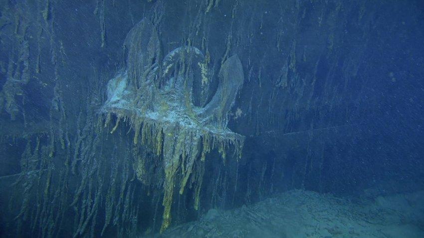 Якорь Титаника