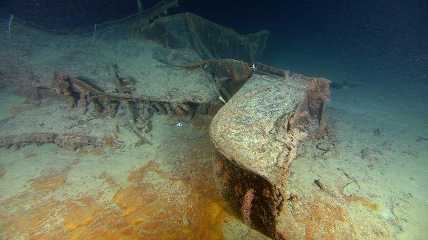 Фотографии Титаника, сделанные в 2010 году