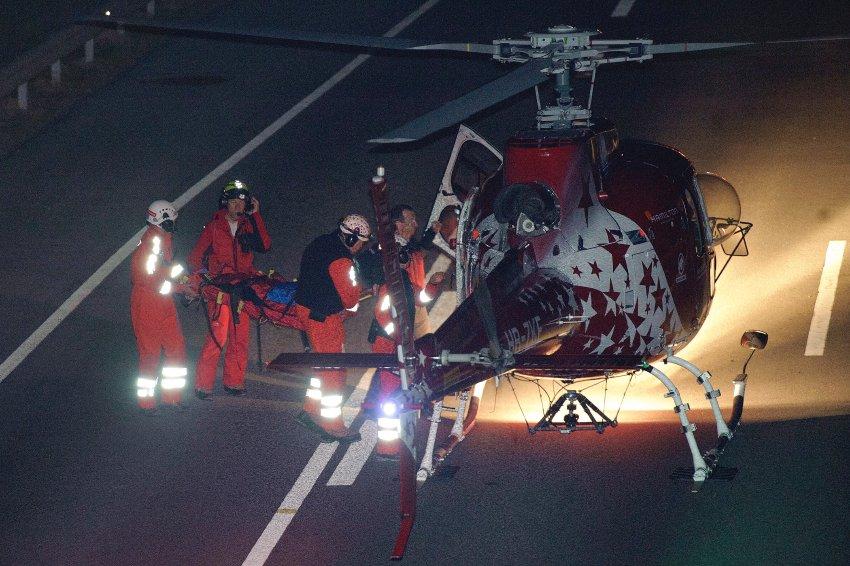 Спасательная операция продолжалась всю ночь