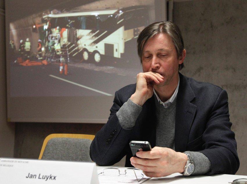 Посол Бельгии в Швейцарии Jan Luykx