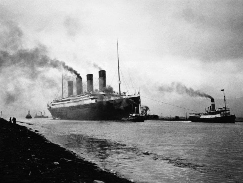 2 апреля 1912 года Титаник покидает Белфаст