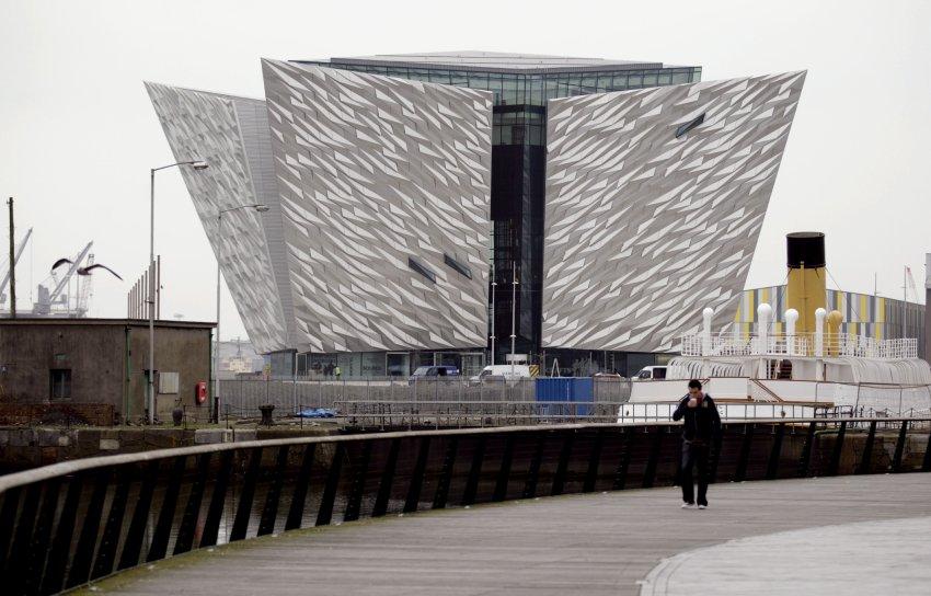 3000 панелей покрывают внешние стены Музея Титаник