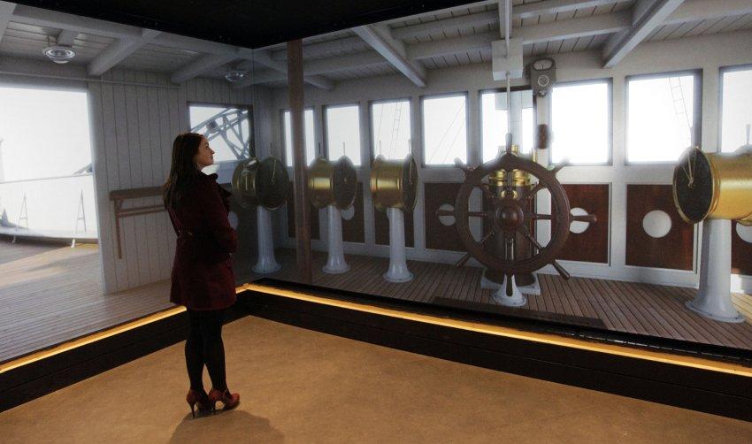 3 D инсталляции Титаника