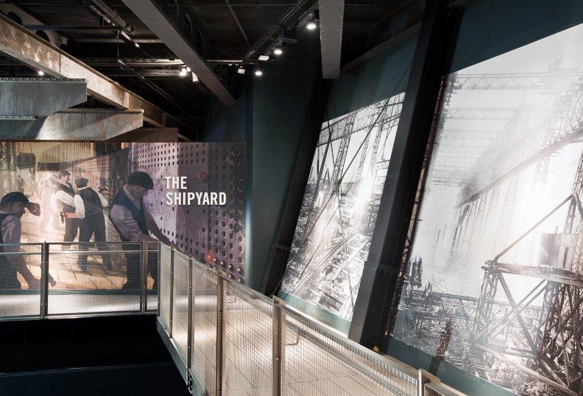 Выставочные галереи Музея Титаник