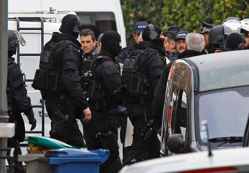 Полиция в Тулузе