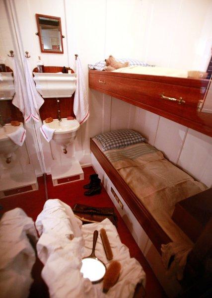Каюта 3-го класса Титаника