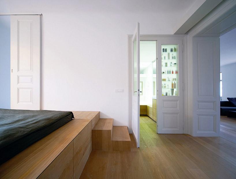 Двухуровневые апартаменты в Люблянах