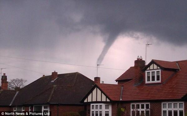 Торнадо в Дарлингтон
