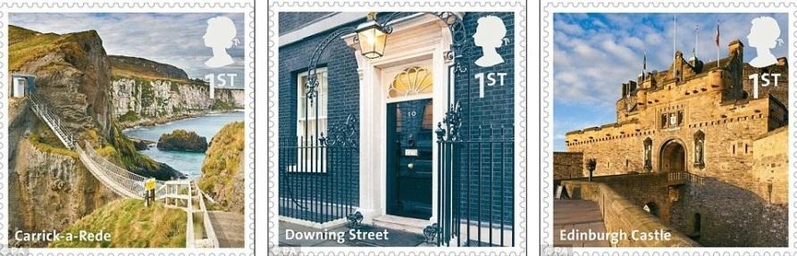 марки Британии