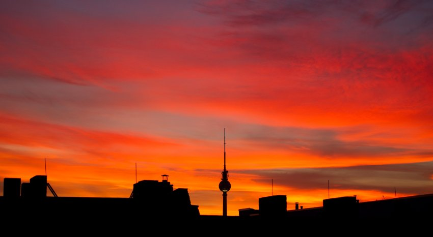 Закат над Берлином