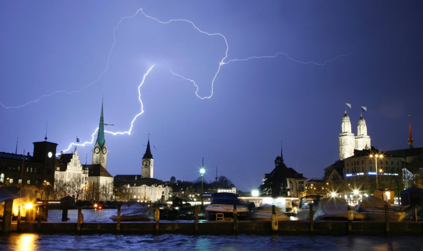 Гроза над Цюрихом