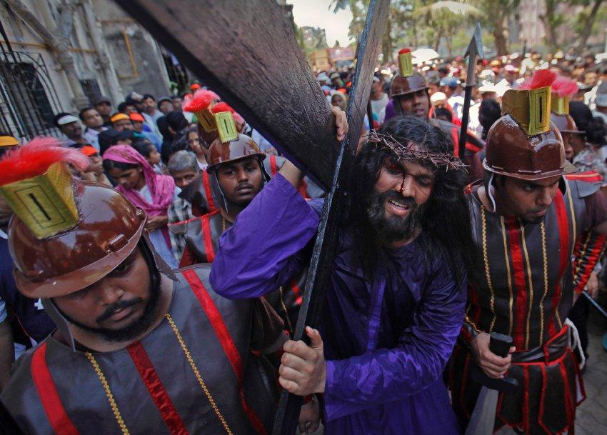 Верные страсти Христа в Индии