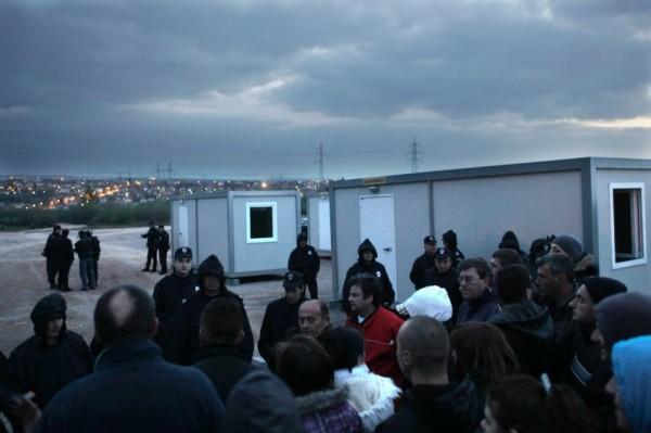 Протесты против цыган