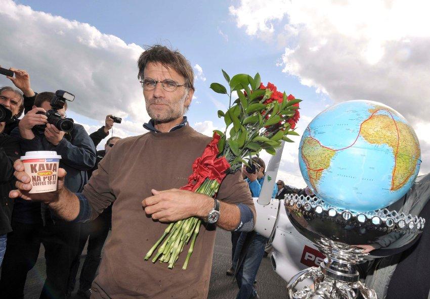 Matevz Lenarcic вернувшись домой
