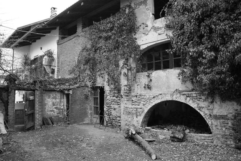 Старый амбар до реконструкции