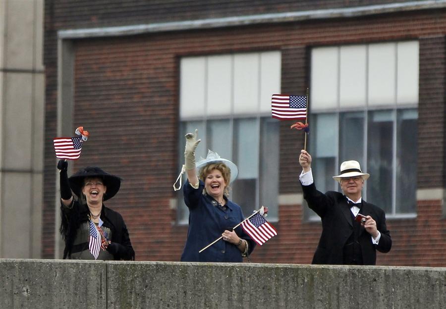 Долгожданная встреча Титаника в Нью-Йорке