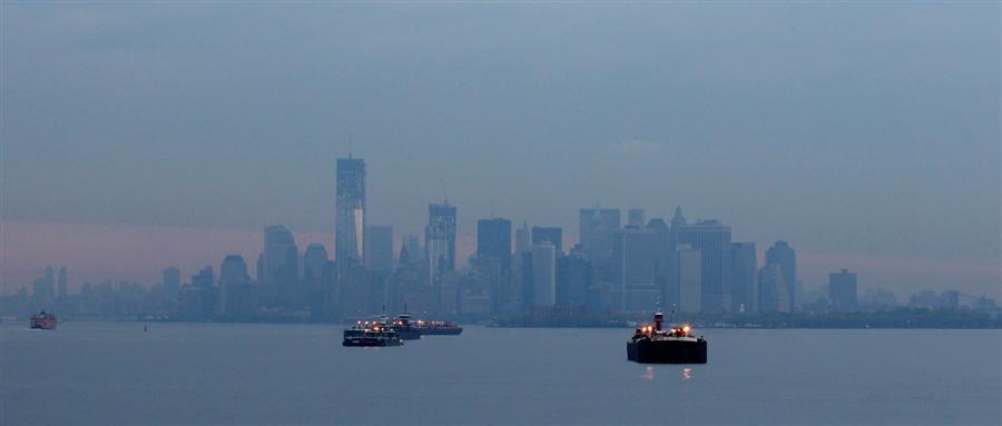 Манхэттен на горизонте
