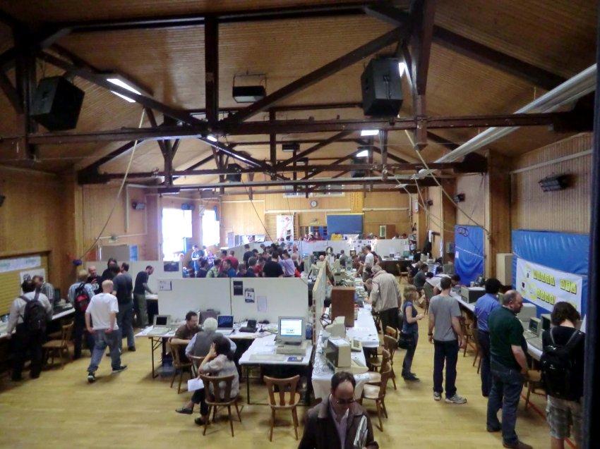 Выставка старых компьютеров
