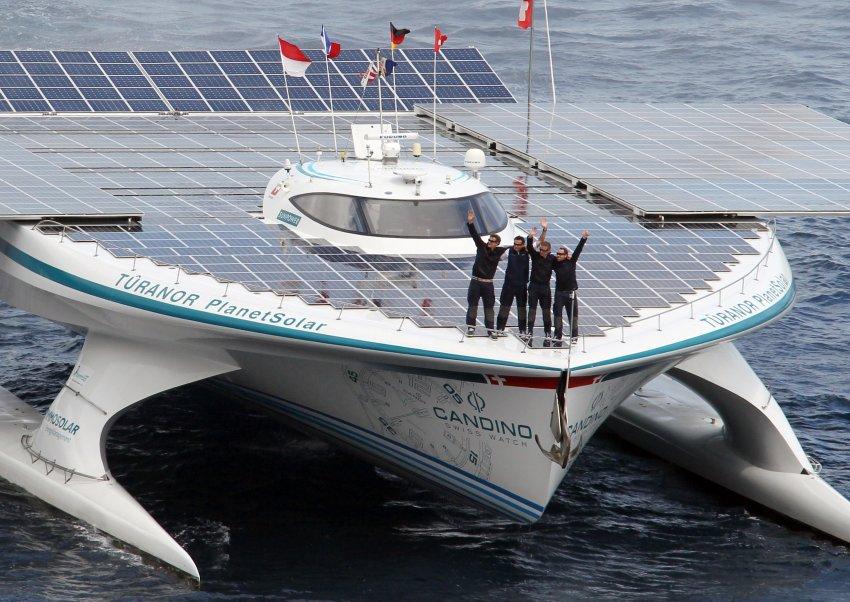 Корабль на солнечных батареях «MS Tûranor PlanetSolar»