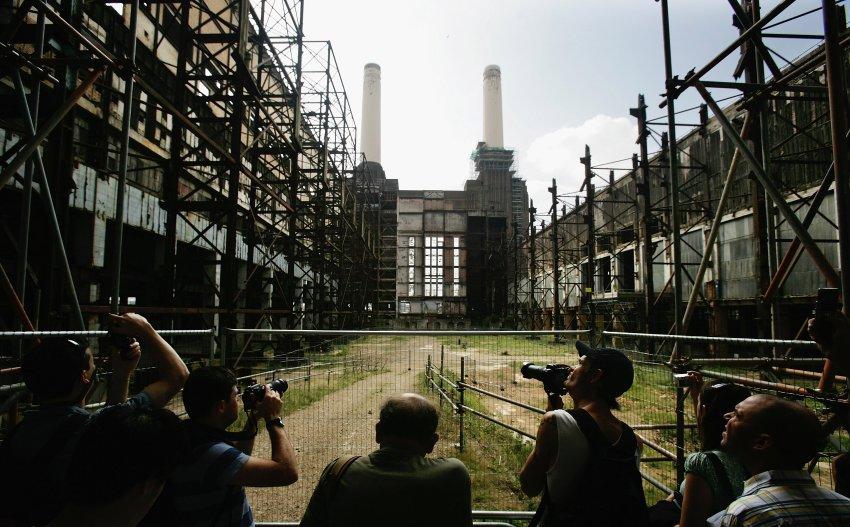 Руины электростанции Battersea