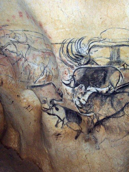древняя наскальная живопись: