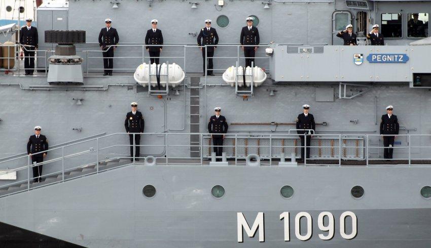 """Морской корабль """"Prignitz"""""""
