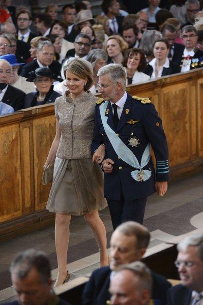 Наследный принц Бельгии Филипп и его жена Матильда
