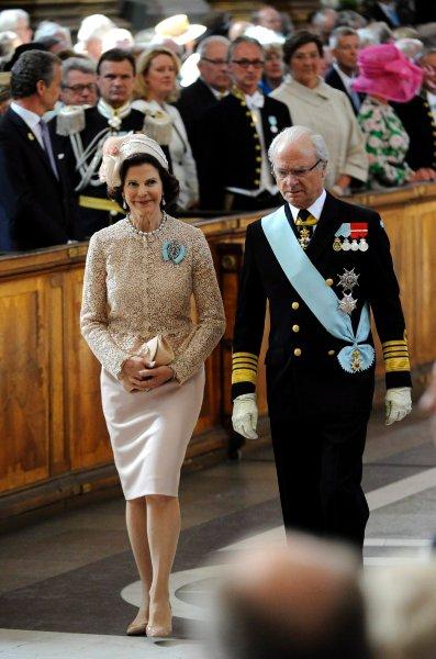 Королева Швеции Сильвия и король Карл XVI Густаф