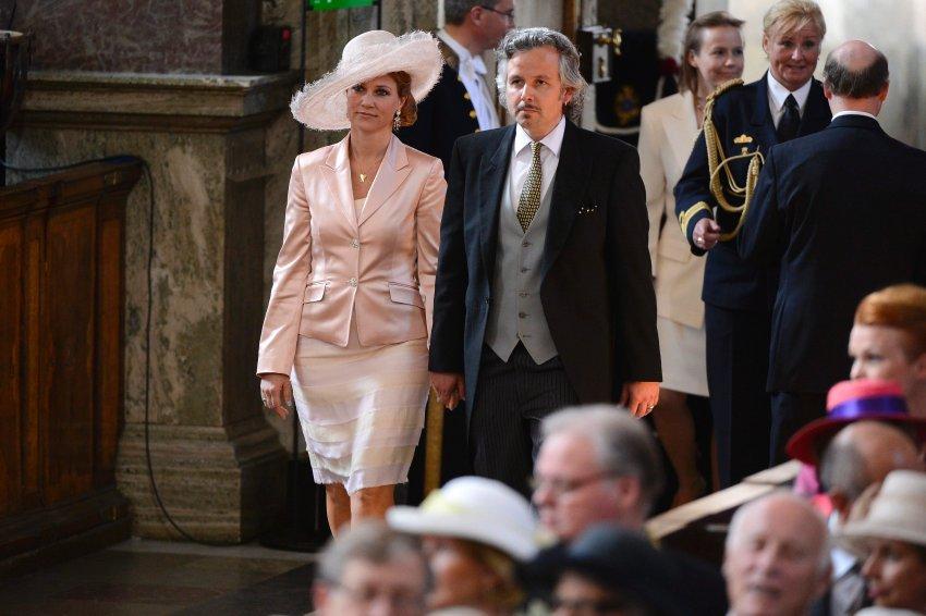 Принцесса Марта -Луиза из Норвегии и её муж