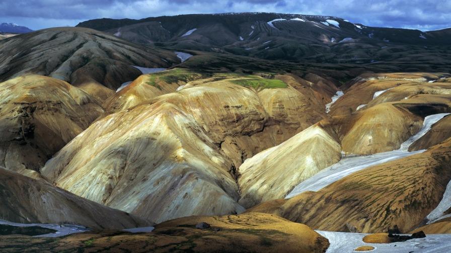 Национальный парк Landmannalaugar в Исландии