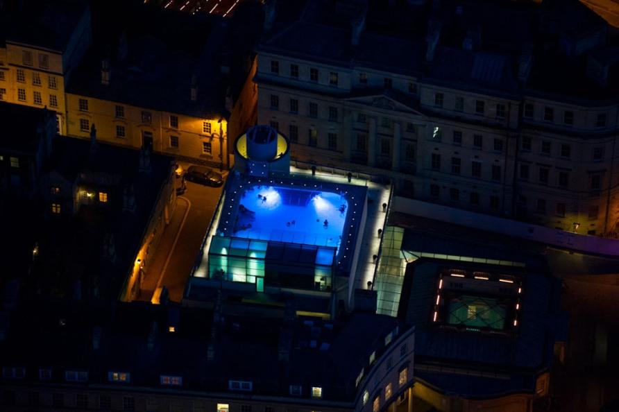 Аэрофотосъемка. Ночной Лондон | Европа Сегодня: http://europe-today.ru/2012/05/krasota-nochnogo-londona/