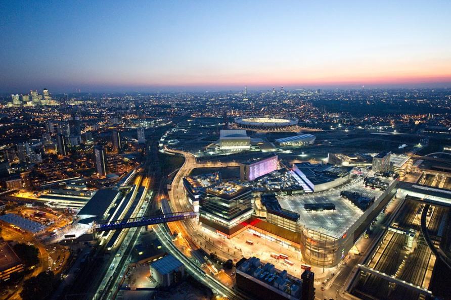 Торговый центр Вестфилд Стратфорд и Олимпийский парк