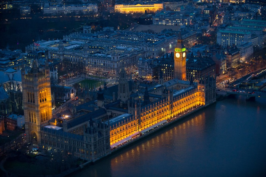 Здание Парламента, Вестминстер